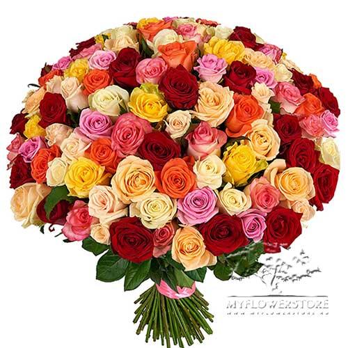 101 роза микс Свидание