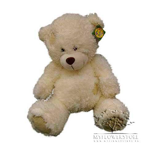 Мягкая игрушка Косолапый медведь с заплаткой