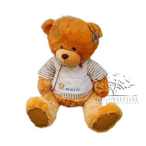 Мягкая игрушка Медвежонок с заплаткой Me to you