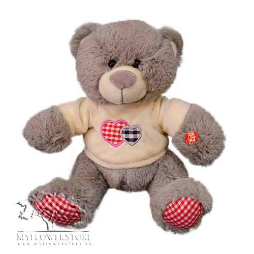 Мягкая игрушка Мишка косолапый красное сердечко