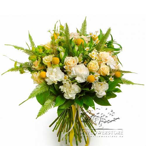 Букет из роз, гвоздик и ромашек Гран-Канария