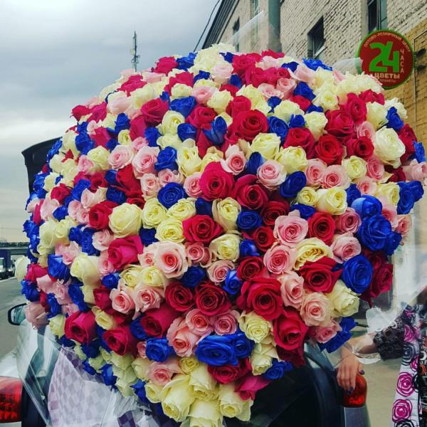Букет 501 розы Эквадорский