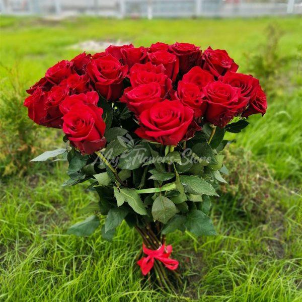 Букет из 35 эквадорских роз